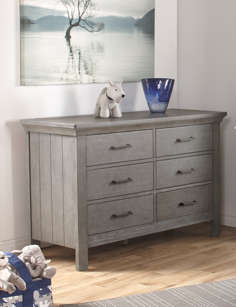 Pali Design Como 6 Drawer Dresser - Granite