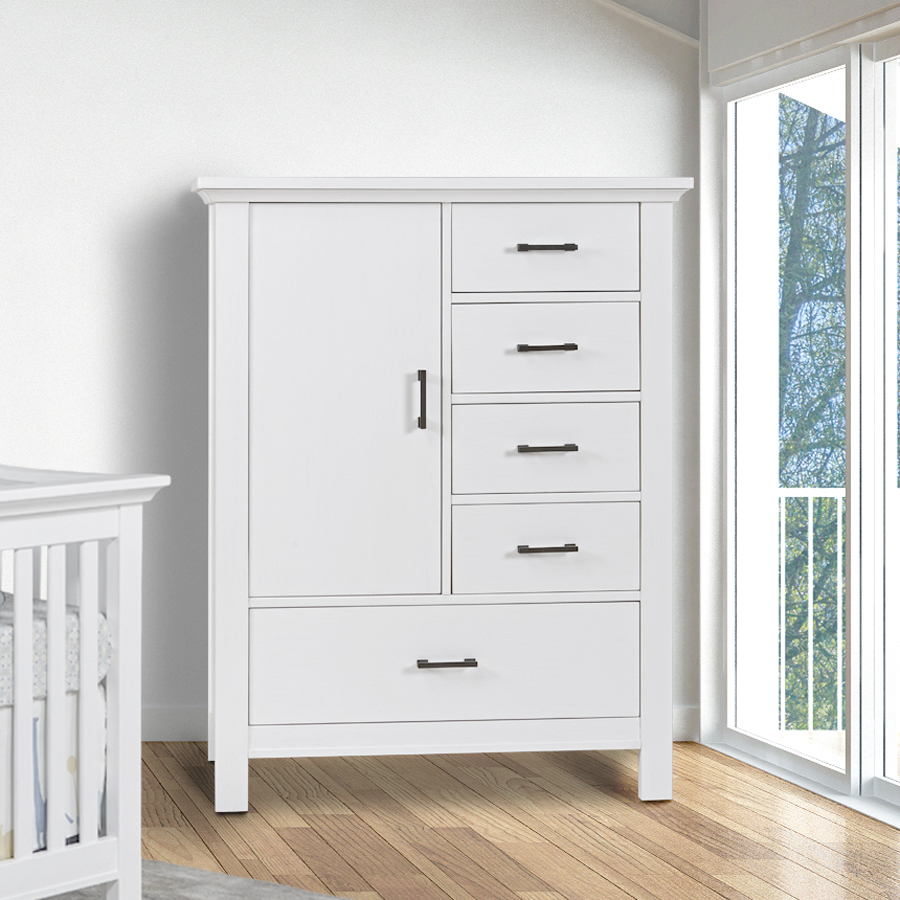 Pali Design Como Door Chest - Vintage White