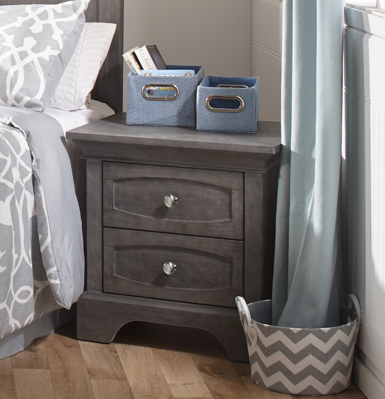 Pali Ragusa Nightstand - Distressed Granite
