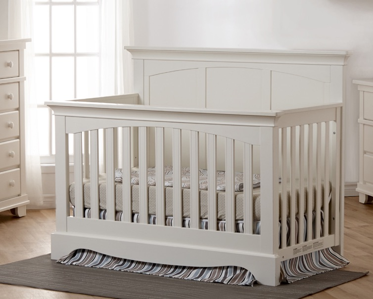 Pali Torino Panel Convertible Crib - White