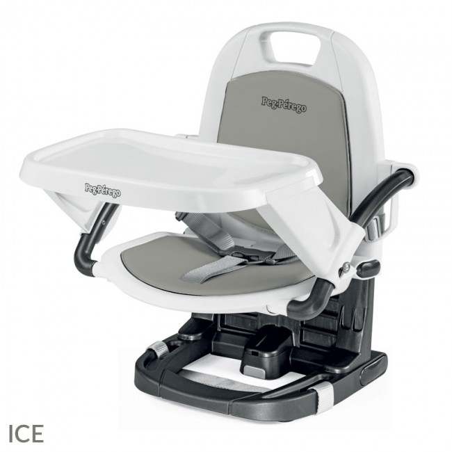 Peg Perego Rialto Booster Chair - Ice Light Grey