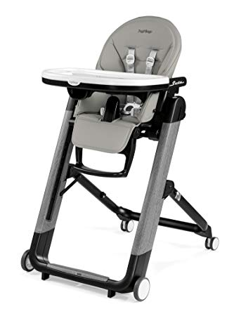 Peg Perego Siesta Ambiance High Chair - Grey Eco Leather