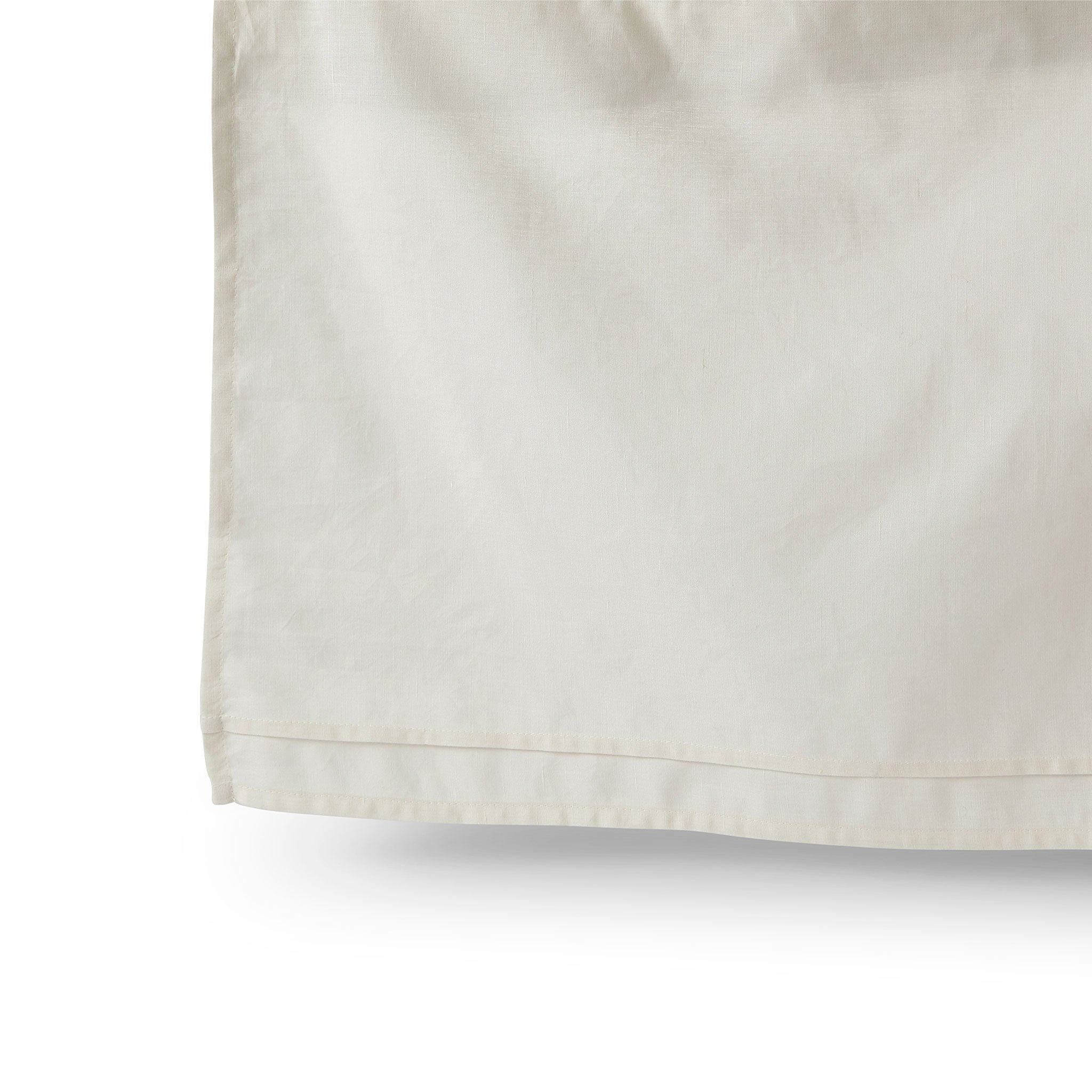 Petit Pehr Cotton Linen Crib Skirt - Natural
