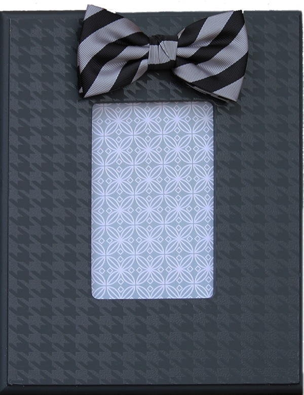 Smile for the Birdie Houndstooth Black Photo Frame