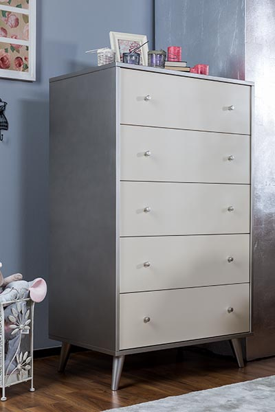 Romina New York 5 Drawers Chest
