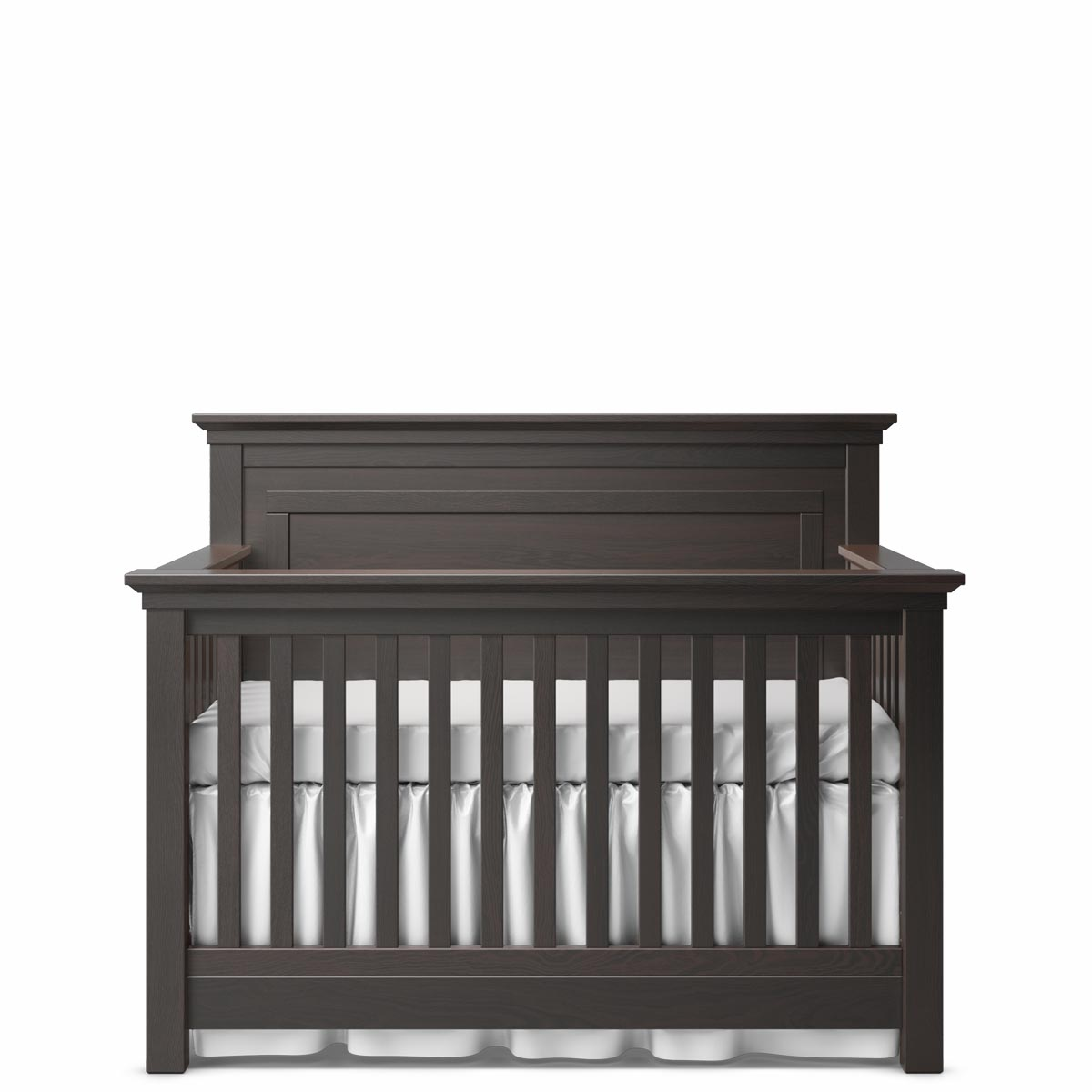 Romina Furniture Karisma Panel Crib - Espresso
