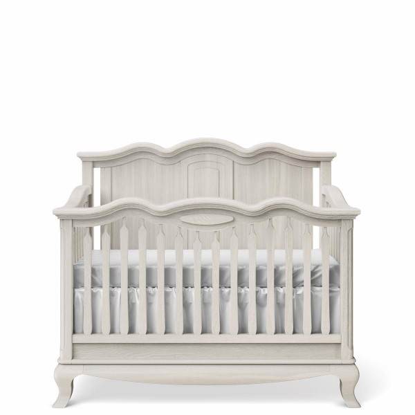 Romina Furniture Cleopatra Solid Panel Convertible Crib