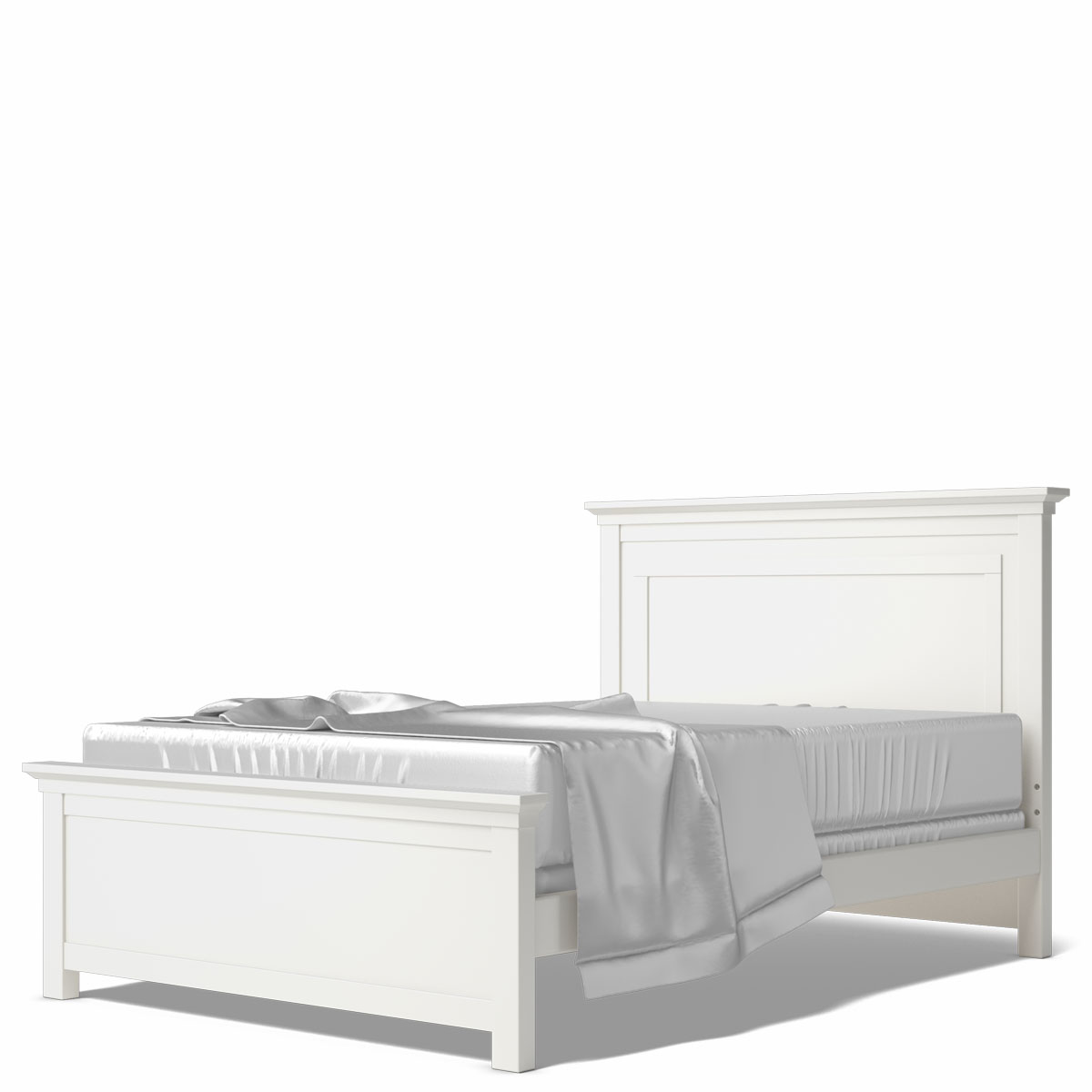Romina Furniture Karisma Solid Panel Full Bed