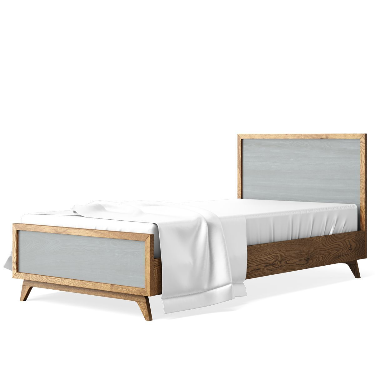 Romina Furniture Uptown Twin Bed