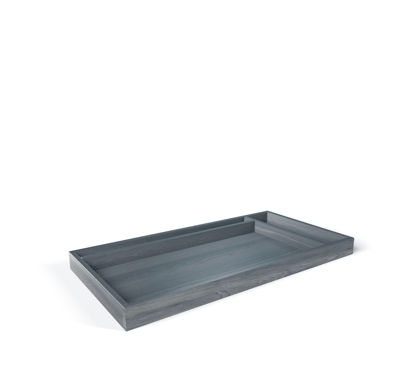 SILVA Furniture Adjustable Changing Tray - Storm