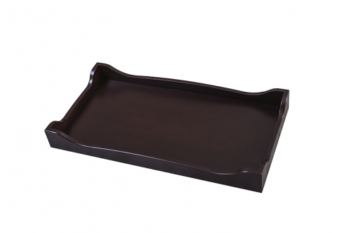 SILVA Furniture Scalloped Changing Tray - Cherry
