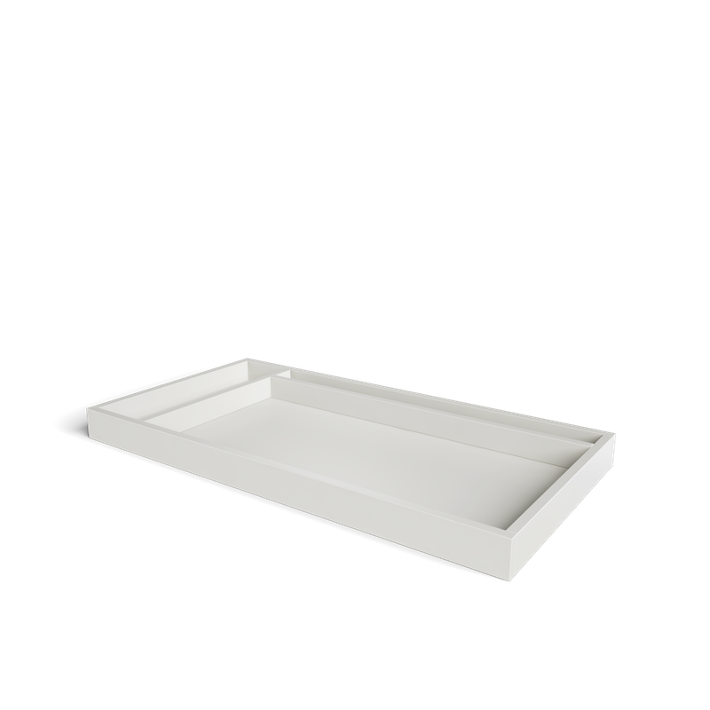 SILVA Furniture Adjustable Changing Tray - Dove White