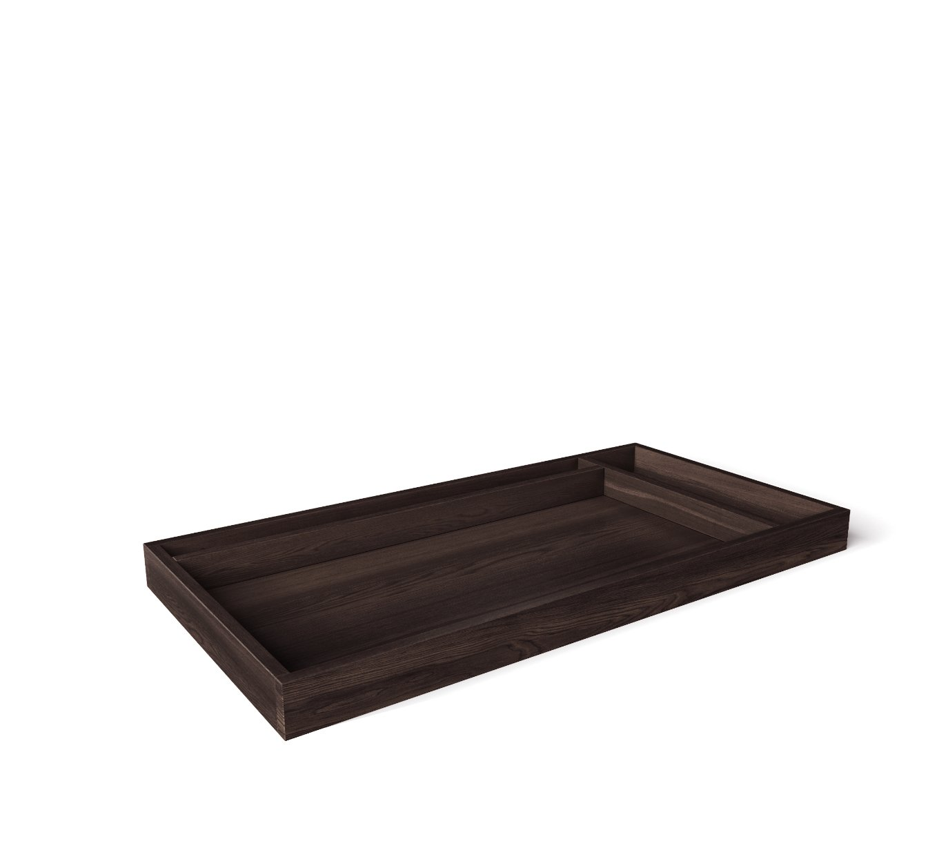 SILVA Furniture Adjustable Changing Tray - Cherry