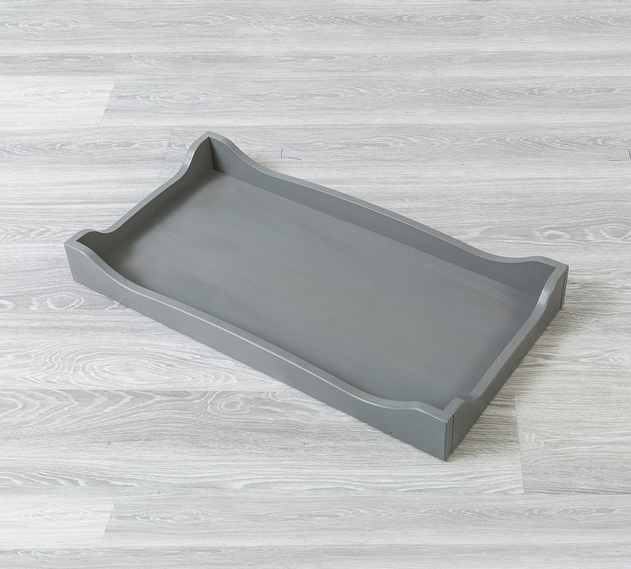 SILVA Furniture Scallopped Changing Tray - Flint