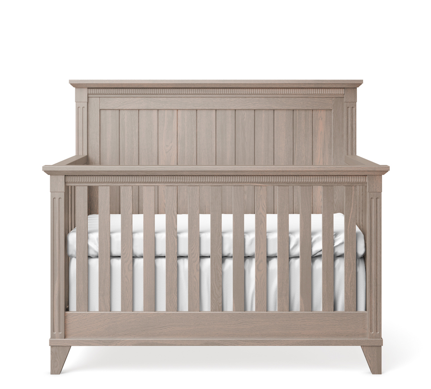 SILVA Furniture Edison Convertible Crib - Cappuccino