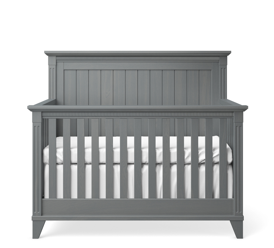 SILVA Furniture Edison Convertible Crib - Flint