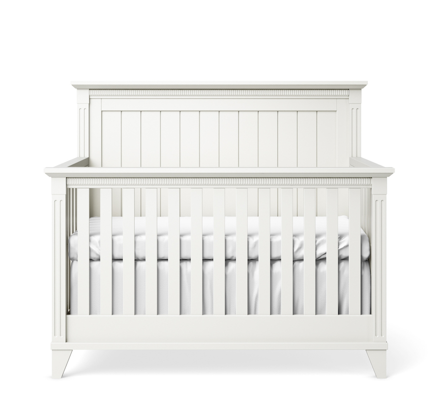 SILVA Furniture Edison Convertible Crib - White