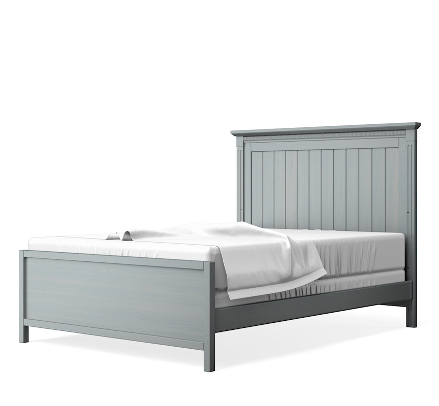 SILVA Furniture Edison Full Size Bed, Flint