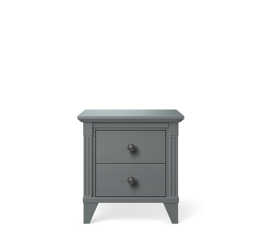 SILVA Furniture Edison Nightstand, Flint