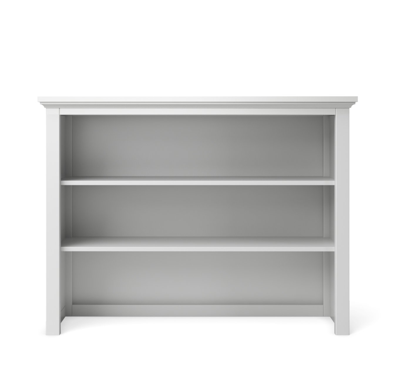 Silva Furniture Hutch in White
