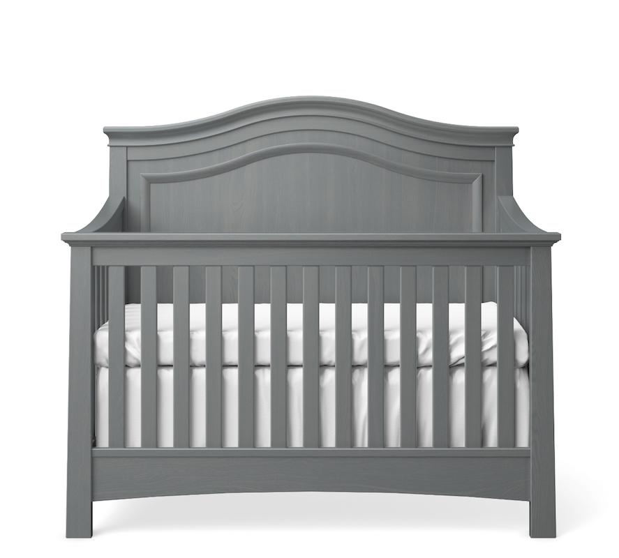 Silva Furniture Serena Convertible Crib - Flint