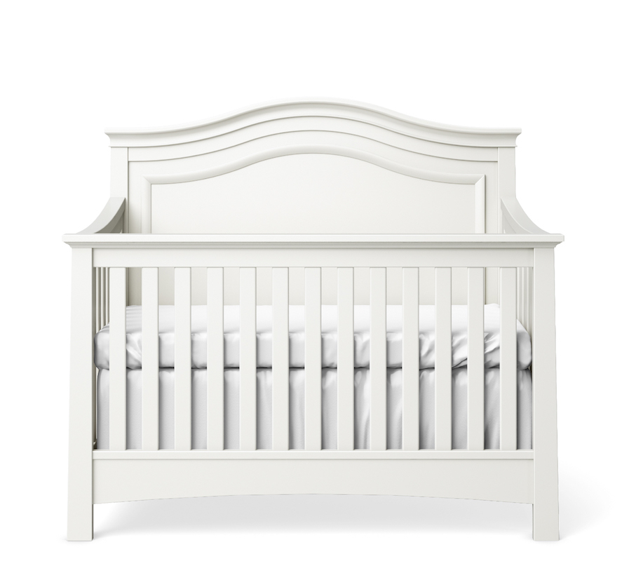 Silva Furniture Serena Convertible Crib - White