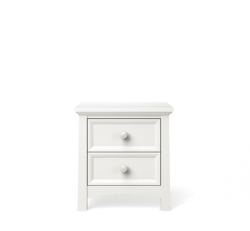 Silva Furniture Serena Nightstand - White