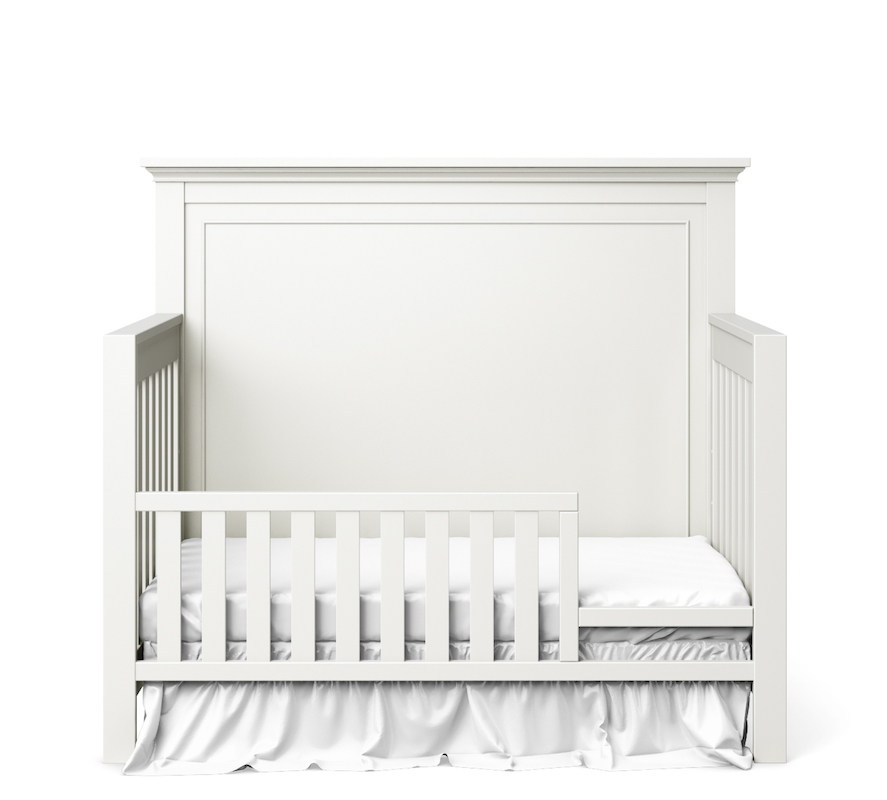 SILVA Furniture Toddler Guard Rail - White