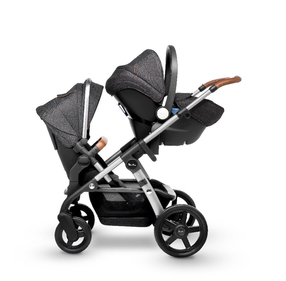2019 Silver Cross Wave Stroller Granite Destination