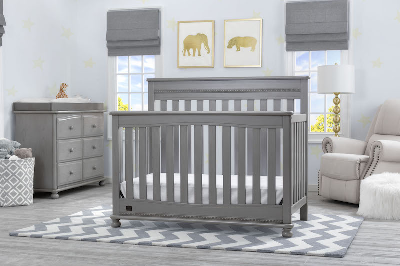 Simmons Kids Franklin 5 Piece Nursery Set - Storm
