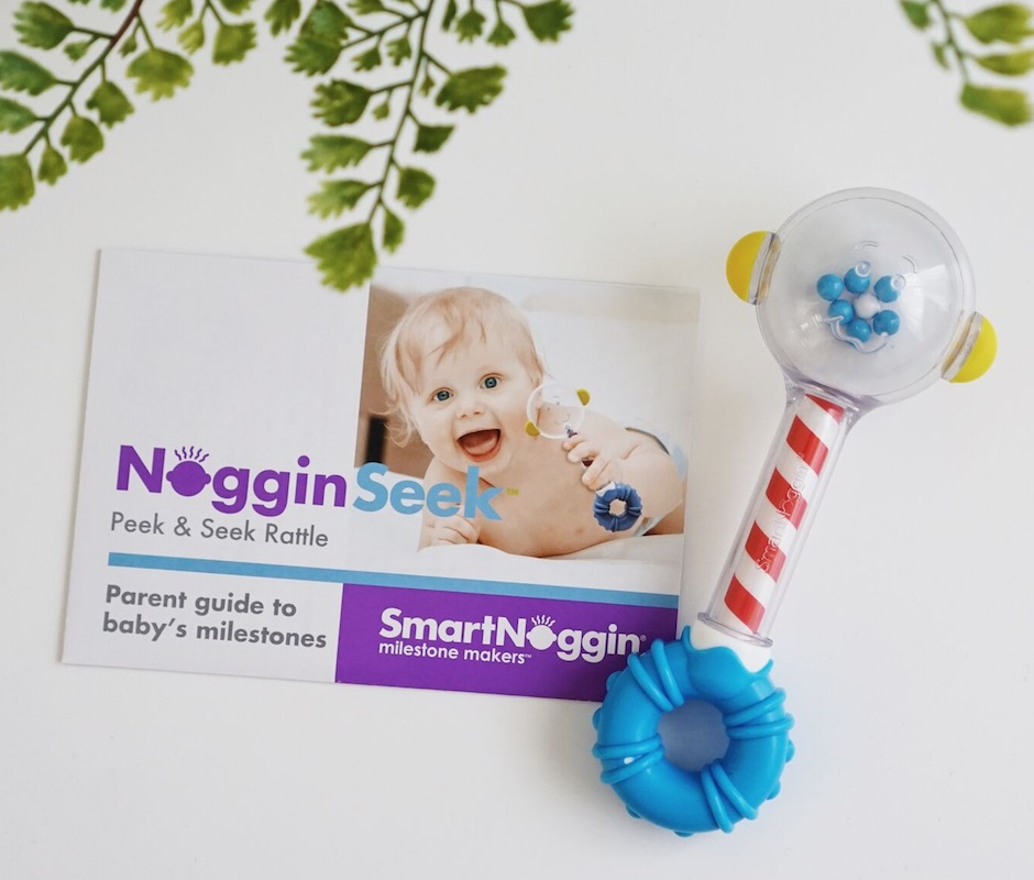 Smart Noggin NogginSeek Peek and Seek Rattle