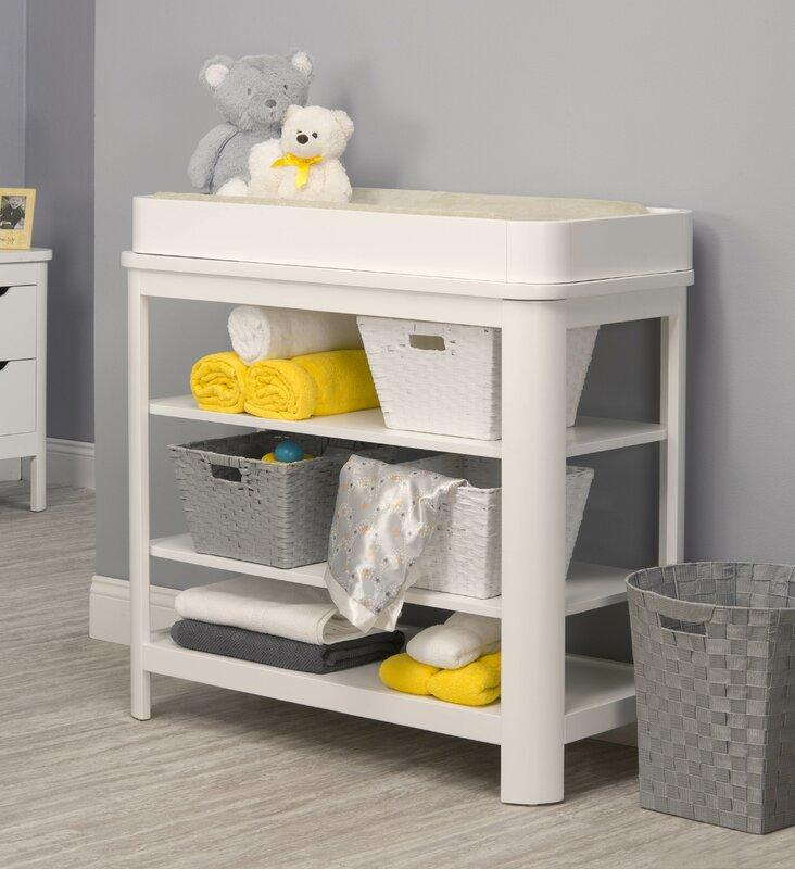Sorelle Chandler Changing Table - White