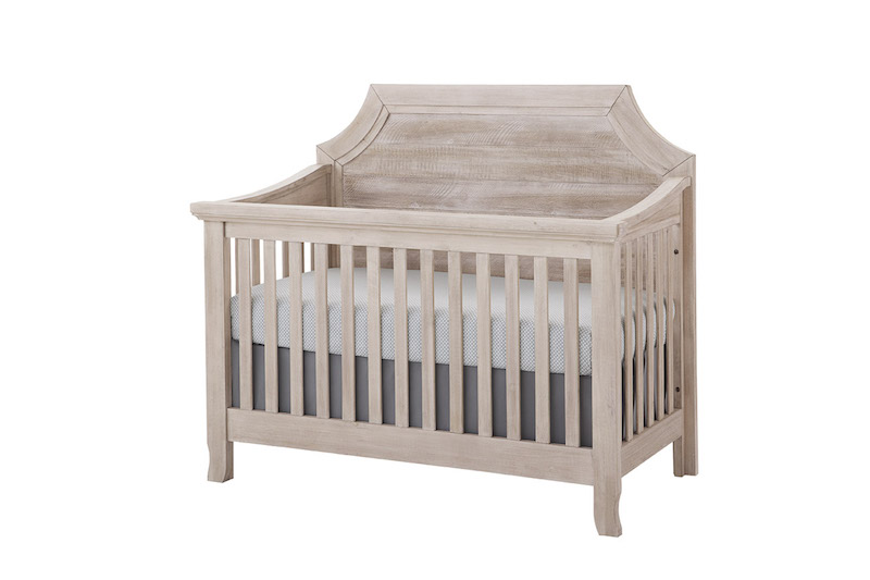 Stella Baby Remi Crib in Sugarcoat