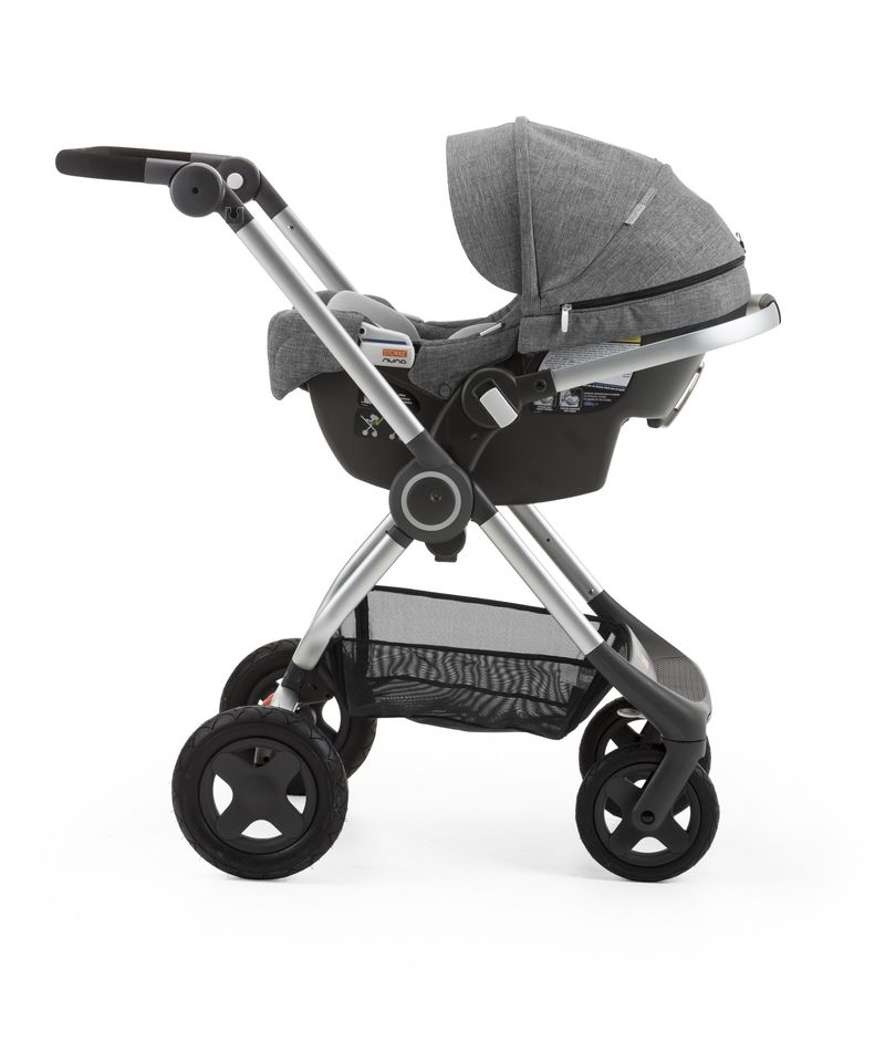 Stokke Nuna Pipa Infant Car Seat and Base, Black Melange ...