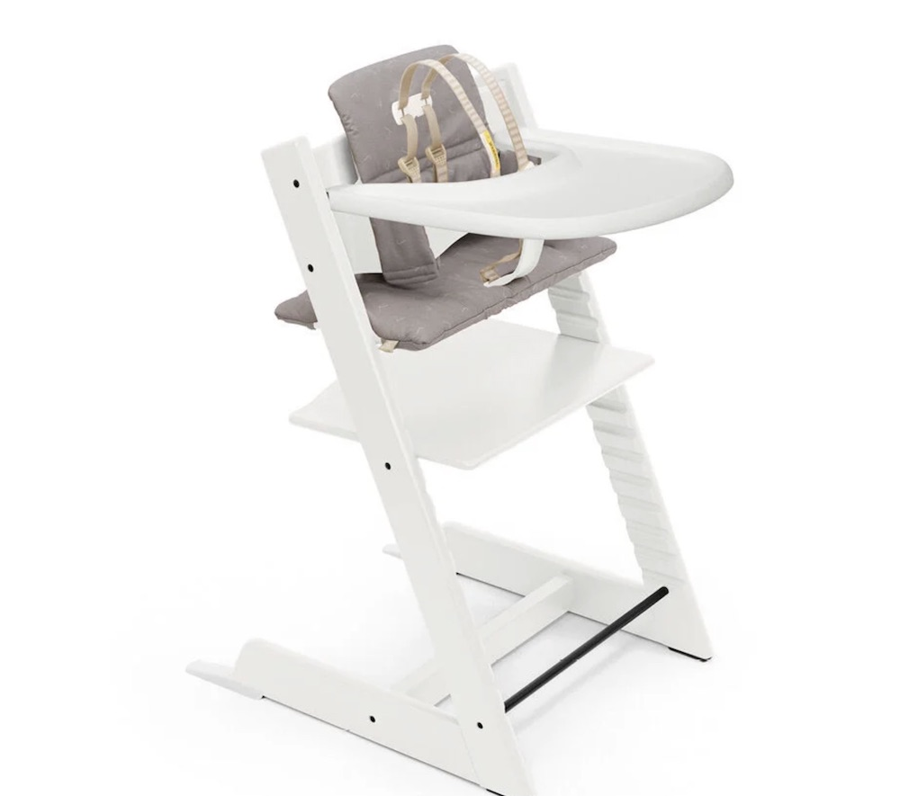 Stokke Tripp Trapp Complete in White / Icon Grey