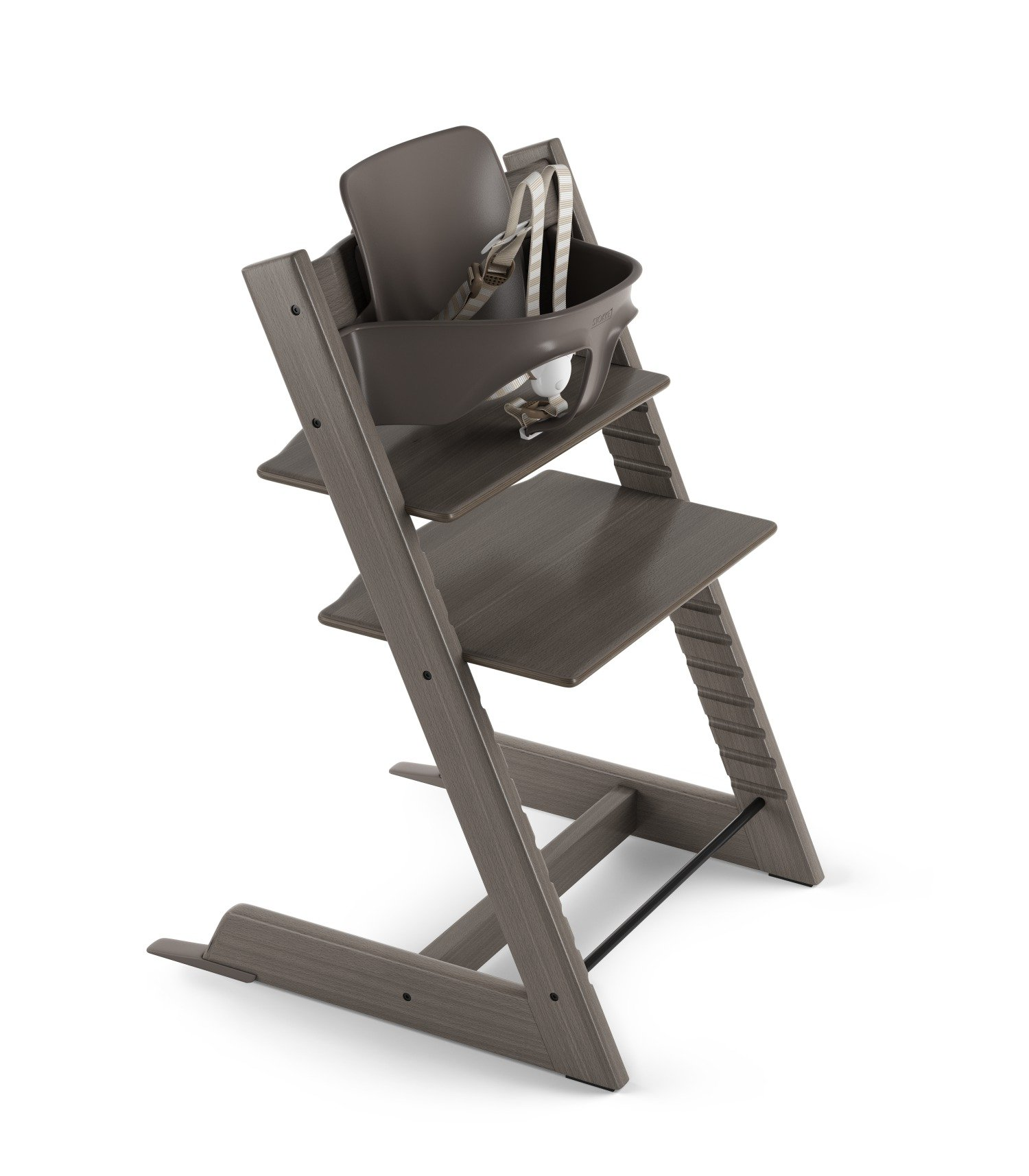 Stokke Tripp Trapp High Chair Package - Hazy Grey
