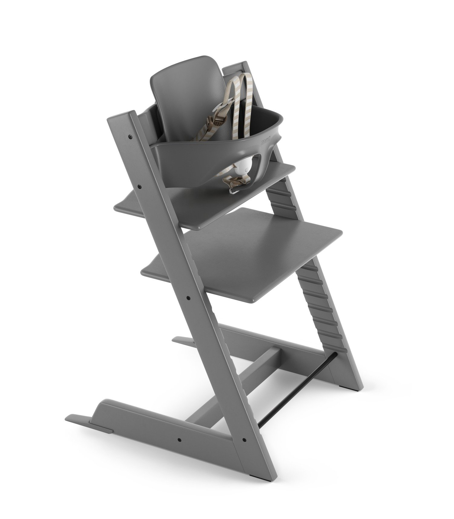 Stokke Tripp Trapp High Chair Package - Storm Grey