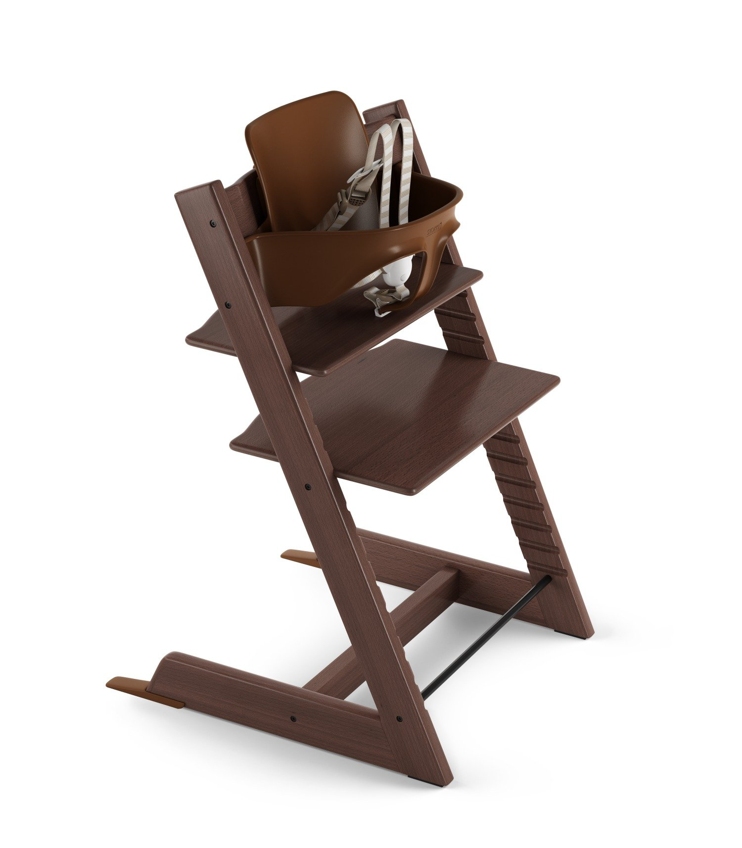 Stokke Tripp Trapp High Chair Package - Walnut Brown