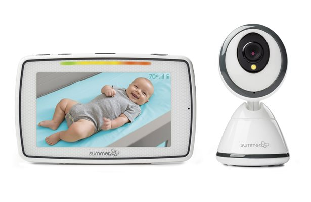 "Summer Infant Baby Pixel® 5"" Touchscreen Color Video Monitor"