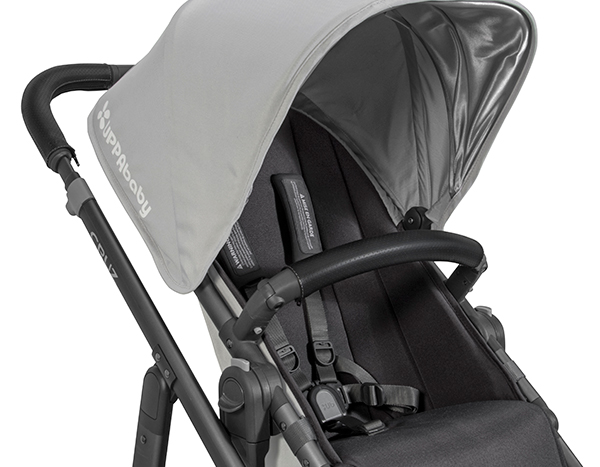 UppaBaby Leather Bumper Cover - Black