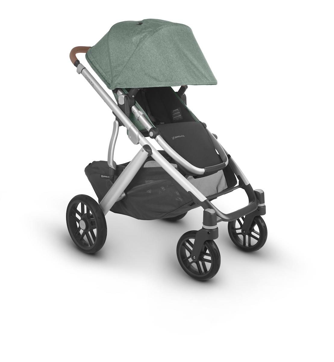 2020 UppaBaby Vista V2 Stroller - Emmett Green Melange ...