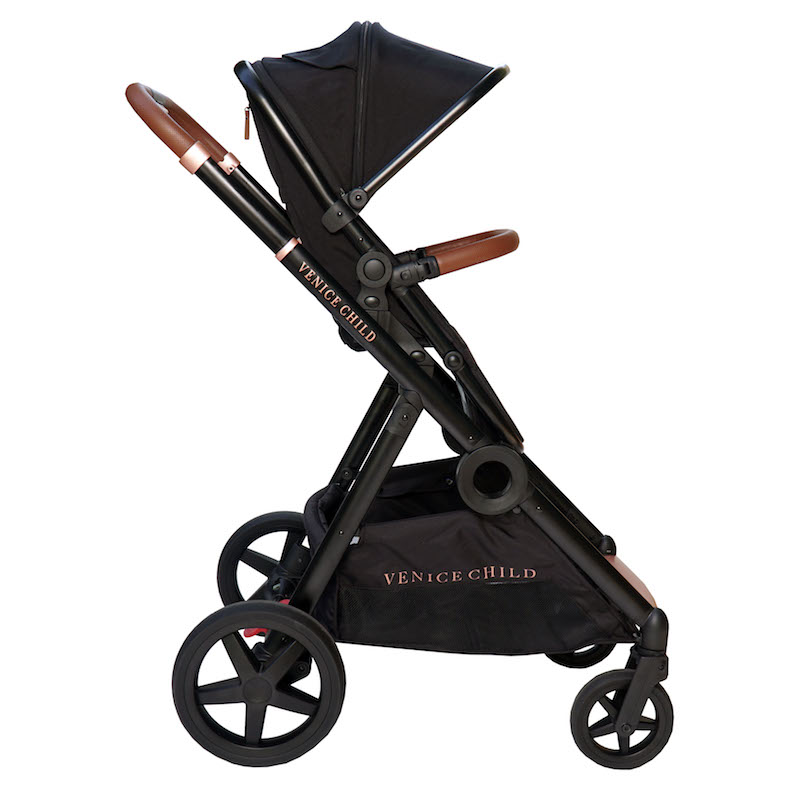 Venice Child Maverick Single to Double Stroller - Eclipse
