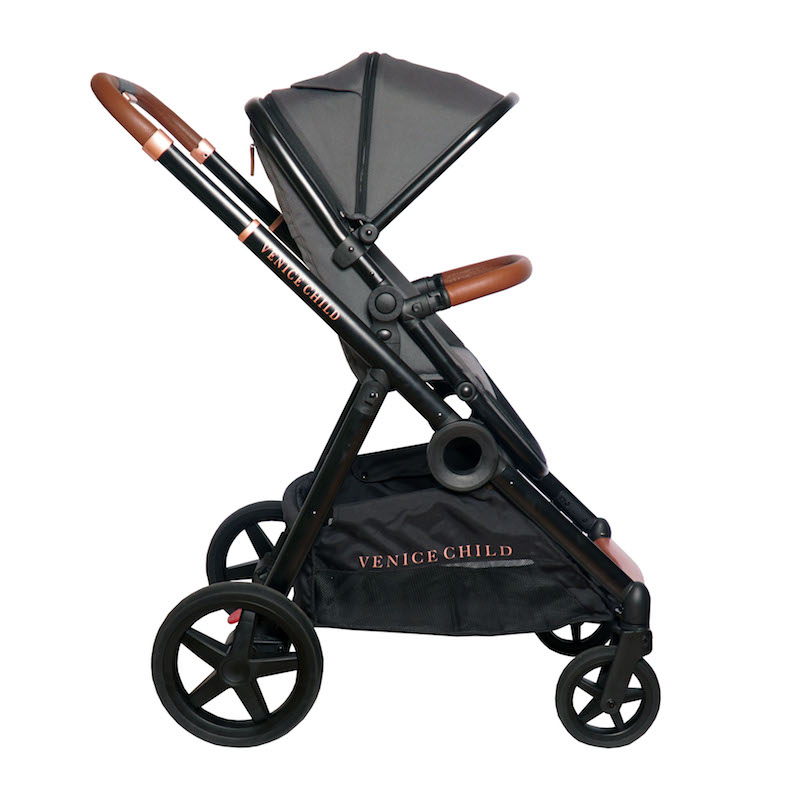Venice Child Maverick Single to Double Stroller - Twilight