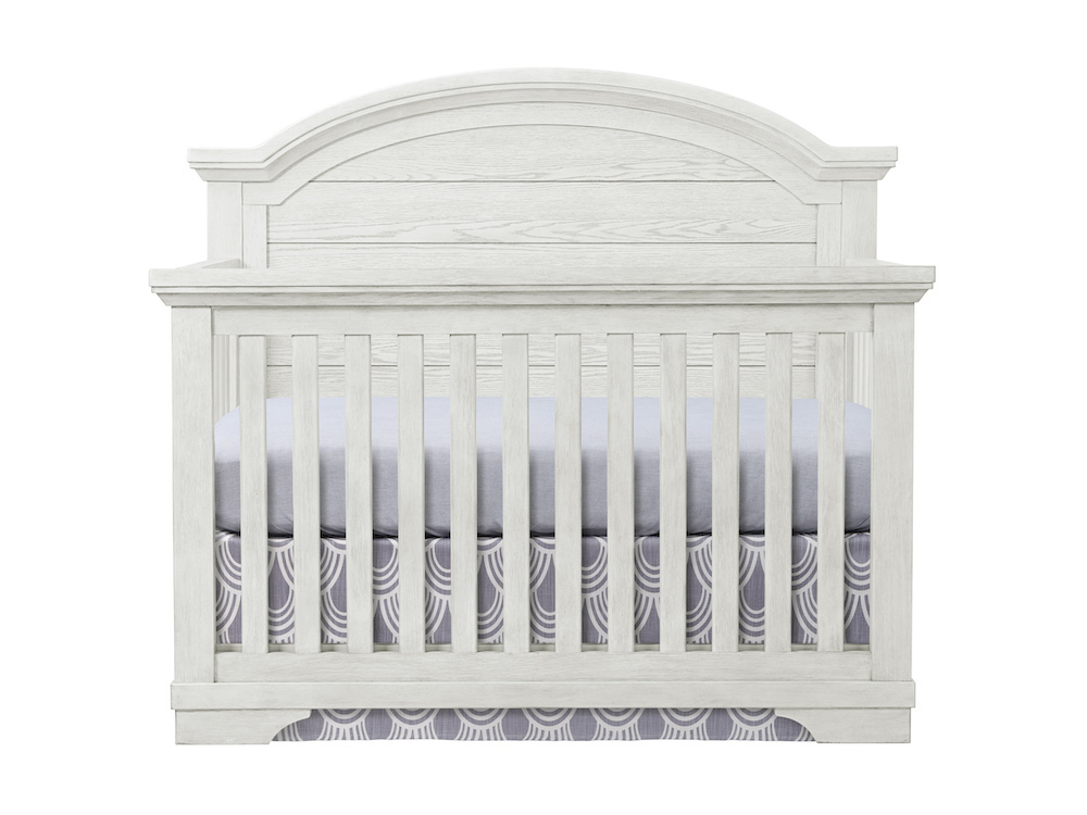 Westwood Design Foundry Arch Top Convertible Crib - White Dove