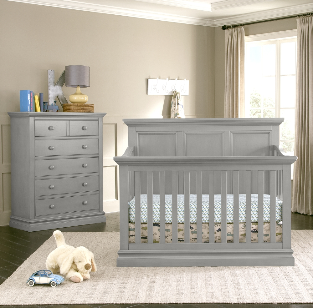 Westwood Design Pine Ridge Convertible Crib and Chest, Cloud